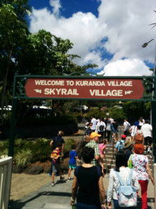 Kuranda welcome